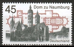 Bund MiNr. 3264 ** Dom Zu Naumburg - BRD