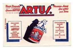 Buvard Pieds Paquets Tripes Marseillaises Sauce Artus - Alimentaire