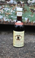 Rare Ancienne Mignonnettes Vin Reine Pédauque Juliénas 1979 - Mignonnettes