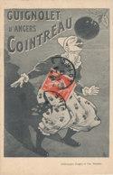 PUBLICITE )) GUIGNOLET D ANGERS    COINTREAU / CLOWN    EDIT DUGAS ET CIE - Werbepostkarten