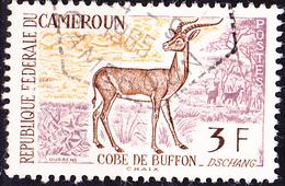 Karemun - Moorantilope (Kobus Kob) (Mi.Nr.: 359) 1962 - Gest Used Obl - Cameroun (1960-...)