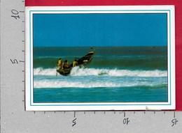 CARTOLINA VG SENEGAL - Franchissement De La Barre - 10 X 15 - ANN. 1990 NATALE 1987 - Senegal