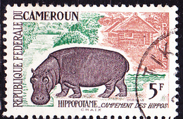 Karemun - Flusspferd (Hippopotamus Amphibius) (Mi.Nr.: 361) 1962 - Gest Used Obl - Cameroun (1960-...)