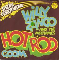 """WILLY ZANGO AND THE MECHANICS """"HOT ROD - GOOM"""" DISQUE VINYL 45 TOURS - Vinyles"""