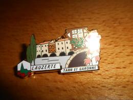 Pin's Des Plus Beaux Villages De France - PBVF - Lauzerte - Tarn Et Garonne - Cities