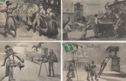 85 Fêtes Du Centenaire 1913 à  LA ROCHE-sur-YON  LOT De 4 Cartes - La Roche Sur Yon