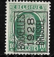 Brussel 1928 Typo Nr. 178A - Préoblitérés