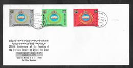 ETHIOPIA F.D.C. FIRST DAY ISSUE 1972 DIRE DAWA 2500 ANNIVERSARY FOUNDING OF THE PERSIAN EMPIRE - Etiopia