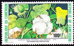Karemun - Baumwolle (Gossypium L.) (Mi.Nr.: 1153) 1988 - Gest Used Obl - Cameroun (1960-...)