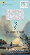 """Entier Postal Spécial Pour Catalogue PHIL@POSTE - Repiquage Par Philaposte Timbre """" Timbres De France """" 199208 - Prêts-à-poster: TSC Et Repiquages Semi-officiels"""