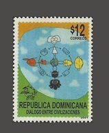 DOMINICAN DOMINICAINE DOMINICANA -  2001 Dialogue Among Civilisations Civilizations Dialog JOINT ISSUE 2001 SCARCE MNH - Joint Issues