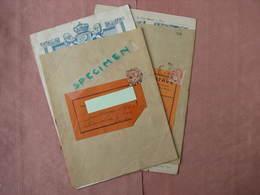 La Cour Batave Catalogue Hiver 1916- Catalogue été 1917 Avec Leur Bande D'envoi Timbrée, Oblitérée. TBE - Textile & Clothing