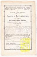 DP Joseph Loontjens ° Rumbeke Roeselare 1808 † Ieper 1883 X Virginie C. Joos - Images Religieuses