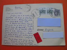 Expres/Hitno.BEOGRAD-Trg Republike.Big Postcard - Serbie