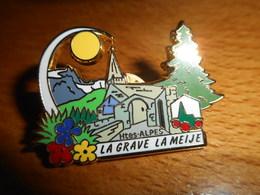 Pin's Des Plus Beaux Villages De France - PBVF - La Grave La Meije - Hautes Alpes - Cities