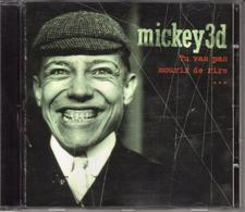 "MICKEY 3D ""TU VAS PAS MOURIR DE RIRE"" - Music & Instruments"