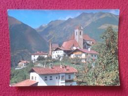 POSTAL POST CARD CARTE POSTALE ITALIA ITALY CON SELLOS WITH STAMPS POSTCARD SCENA SCHENNA PRESSO MERANO VER FOTOS Y DESC - Otras Ciudades