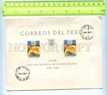 255522 PERU Souvenir Sheet FDC 1960 Year - Peru