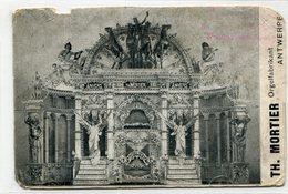 Antwerpen Orgelfabrikant Mortier - Antwerpen