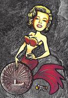 CPM Sirène Jihel Tirage Signé 30 Exemplaires Numérotés Signés Mermaid Sous Marin Submarine JUNON - Fairy Tales, Popular Stories & Legends