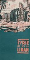 SYRIE LIBAN / Dépliant Touristique - Publicités