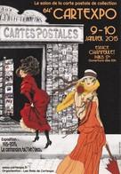 Cartexpo 64eme Janvier 2015 Paris Champerret - Bourses & Salons De Collections