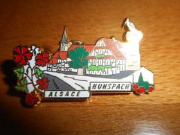 Pin's Des Plus Beaux Villages De France - PBVF - Hunspach - Alsace - Cities