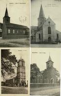 Lot Van 10 Postkaarten België Oost Vlaanderen - De Kerk - L'Eglise - Cartes Postales