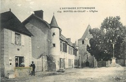 63 - MONTEL DE GELAT - L'EGLISE - édit; I.M. - Frankreich