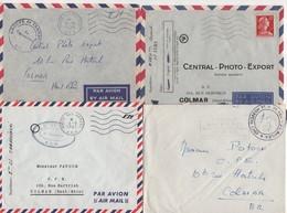 Guerre D'Algerie - Poste Aux Armees AFN - Lot De 20 Lettres - Voir Scan - Marcofilia (sobres)