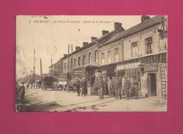 Jeumont - La Poste Frontiere - Halte à La Douane - Douane