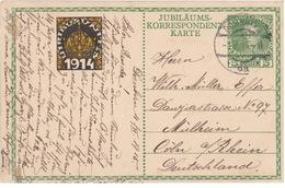 Jubiläums-Korrespondentz-Karte - 1914 - Entiers Postaux