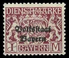 BAYERN DIENSTMARKEN Nr 43y Postfrisch X884492 - Beieren