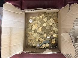 Vrac De Centimes De Franc Allant De 5 à 50 Centimes - Monnaies & Billets