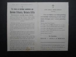 VP BELGIQUE (M1902) DOODSPRENTJE (2 Vues) URBANIA MELANIA GILLIS WILLEBROEK 20/1/1884 - WILLEBROEK 1/1/1945 - Décès