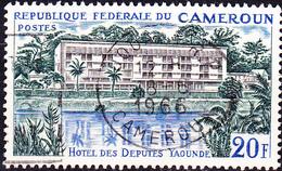 """Karemun - """"Hôtel Des Députés"""" In Yaoundé (Mi.Nr.: 454) 1966 - Gest Used Obl - Cameroun (1960-...)"""