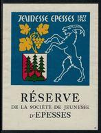 Rare // Etiquette De Vin // Jeunesse //  Epesses, Réserve De La Société De Jeunesse - Etiquettes