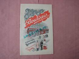 Tours Superbe Catalogue Illustré Des Chaussures BOURDAIS  20 Pages 13X21 Comme Neuf - France