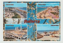 03.02.1987   -  AK/CP/Postcard  Spanien/Balearen/Mallorca/Playa De Palma -  Gelaufen   - Siehe Scan  (esp 010) - Mallorca
