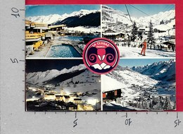 CARTOLINA VG FRANCIA - LA CLUSAZ - Piscine D'été Et D'hiver - Multivue Vedutine - 10 X 15 - ANN. 1975 - La Clusaz