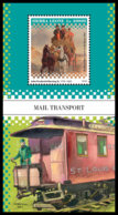 SIERRA LEONE 2018 **MNH Horse Carriage Pferdekutsche Chariot A Cheval Mail Transport S/S - OFFICIAL ISSUE - DH1901 - Diligences
