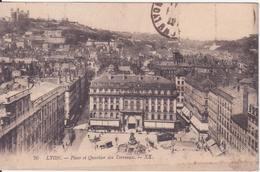 CPA - LYON - Place Et Quartier Des Terreaux - Lyon
