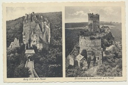 AK  Burg Eltz Ehrenburg Bei Brodenbach Mosel - Germania