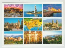12.06.2017   -  AK/CP/Postcard  Spanien/Andalusien/Malaga -   Gelaufen   - Siehe Scan  (esp 012) - Málaga