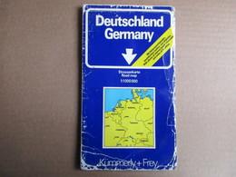 Kümmerly + Frey - Allemagne - Germany - éditions De 1984 - Cartes Routières