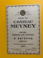 9582 - Château Meynet 1957 Saint-Estèphe - Bordeaux