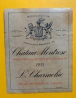 9583 - Château Montrose 1955 Saint-Estèphe - Bordeaux