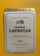 9588 - Château Lauretan 1980 - Bordeaux