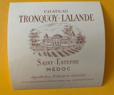 9574 - Château Tronquoy-Lalande  Saint-Estèphe - Bordeaux