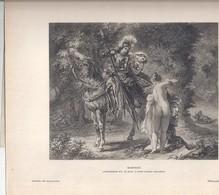MARPHISE -Eugène Delacroix -gazette Des Beaux-arts - Lithographies